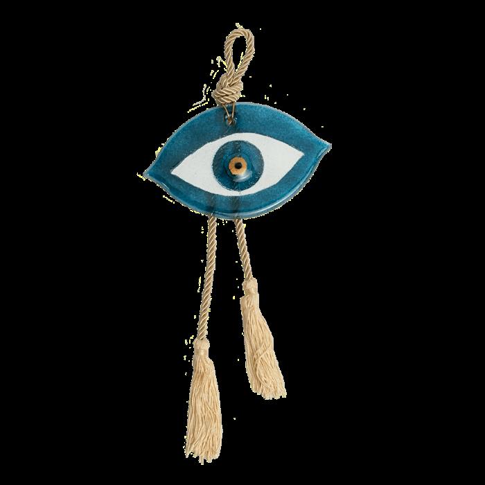 Γούρι μάτι 10,5Χ17 γαλάζιο