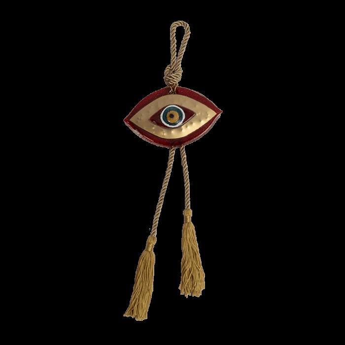 Γούρι μάτι MSMG13 κόκκινο 12X14