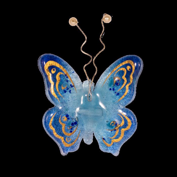 Πεταλούδα 10χ9 Ίριδα γαλάζιο επιτοίχια